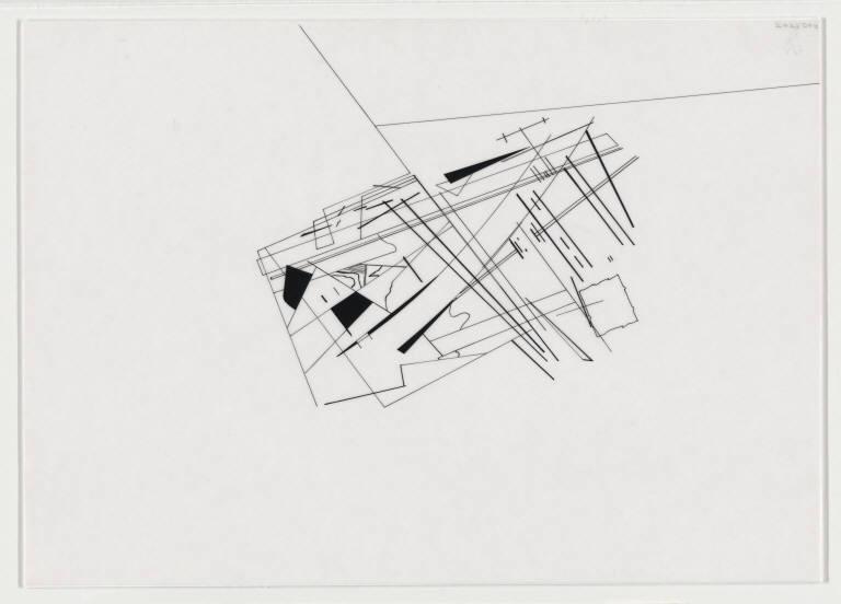 Zaha Hadid Drawing Techniques Parc de la Villette | ...